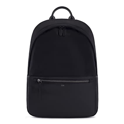 Amazon.com  ISM  The Classic (Black) - Leather Backpack Men 266cc2912d17