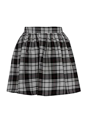 ed2c5330ea7e NEW WOMENS RED BLACK LADIES TARTAN SKATER MINI SKIRT ELASTICATED WAIST SIZE  8-20 (