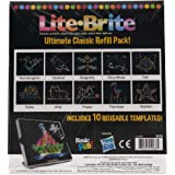 Basic Fun Lite Brite Ultimate Classic Refill Pack - Animal Theme - 10 Reusable Templates - Amazon Exclusive
