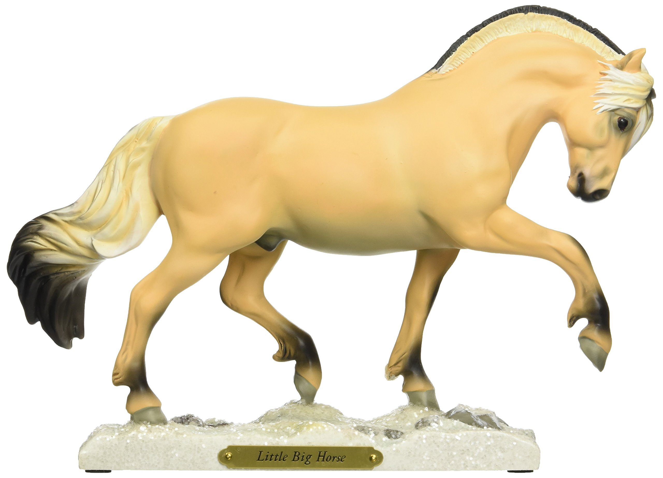 """Enesco Trail of Painted Ponies """"Little Big Horse"""" Stone Resin Horse Figurine, 7.5"""""""