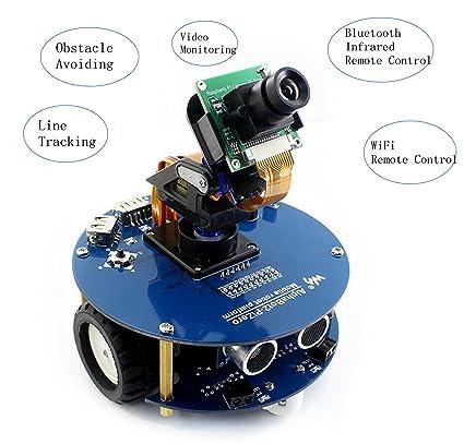 Amazon com: CQRobot Robot Building Kit for Raspberry Pi 3 Model B+