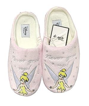 Primark - Zapatillas para Mujer con diseño de Campana de Disney (Tallas 36-41), Pattern 1, UK Small 3-4 EU 36-37: Amazon.es: Hogar