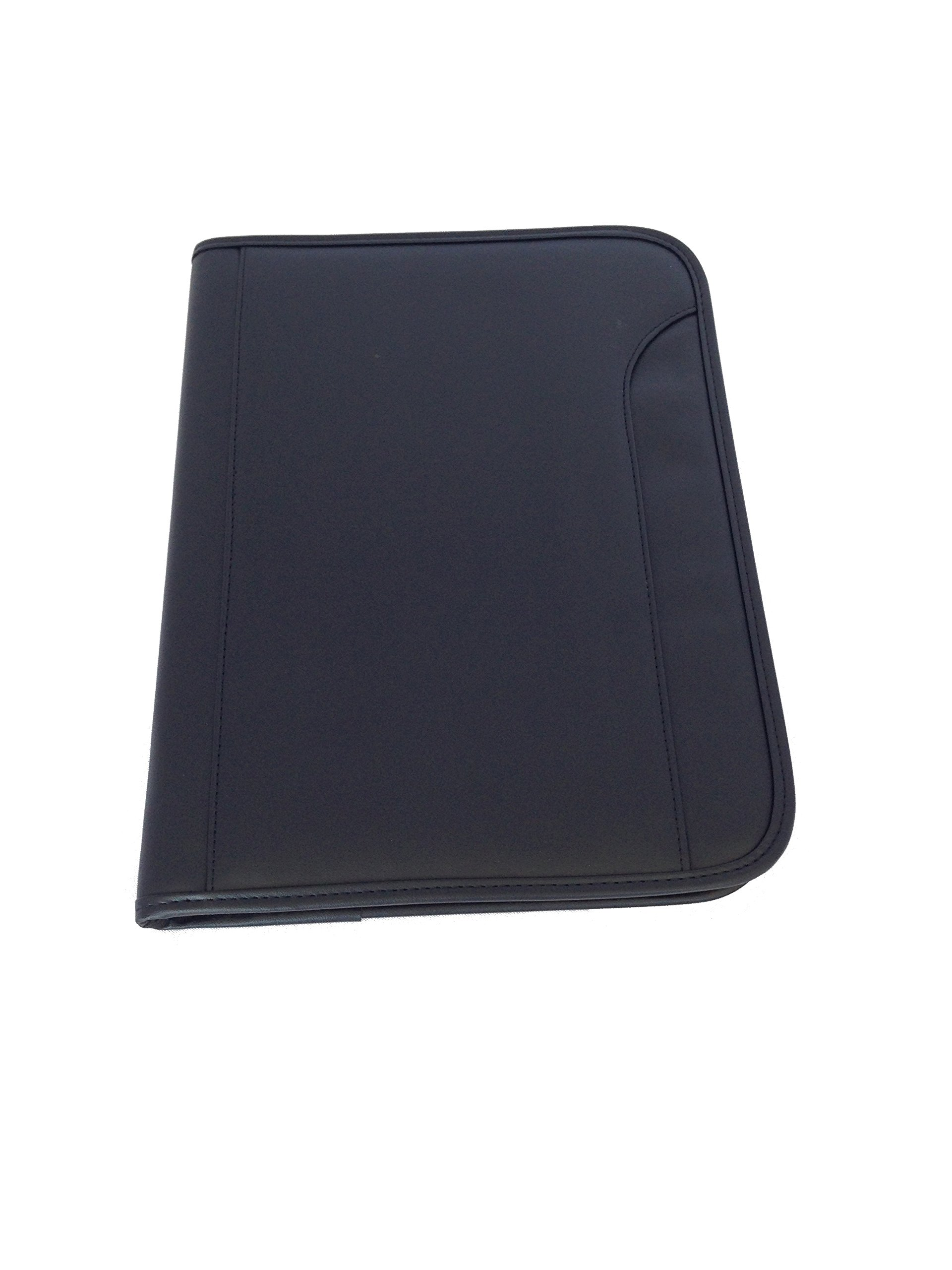 ImpecGear Padfolio Zippered Portfolio Interior 10.1 Inch Tablet Sleeve, Organizer Document Holder W/ Notepad & Pen Slot, Calculator (10'' x 13.5'' x 1.5'') by ImpecGear (Image #3)
