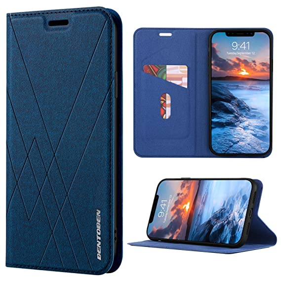 separation shoes ec82e 37deb BENTOBEN Apple iPhone XR Wallet Case, iPhone Xr Case, Heavy Duty Slim  Shockproof Fabric Design Soft TPU Hard PC Covers Full Body Protective Phone  Case ...
