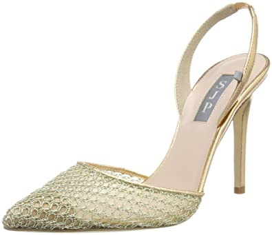 Bliss 100, Escarpins Femme, Or (Gold Mesh), 38.5 EUSJP by Sarah Jessica Parker