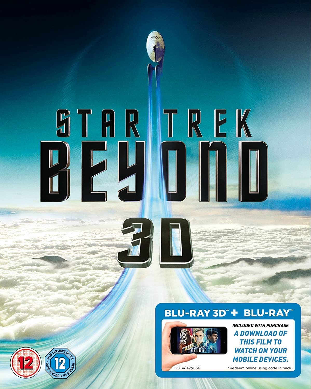Star Trek Beyond 3D [Blu-ray 3D - Blu-ray] Chris Pine Anton Yelchin Zoe Saldana Idris Elba