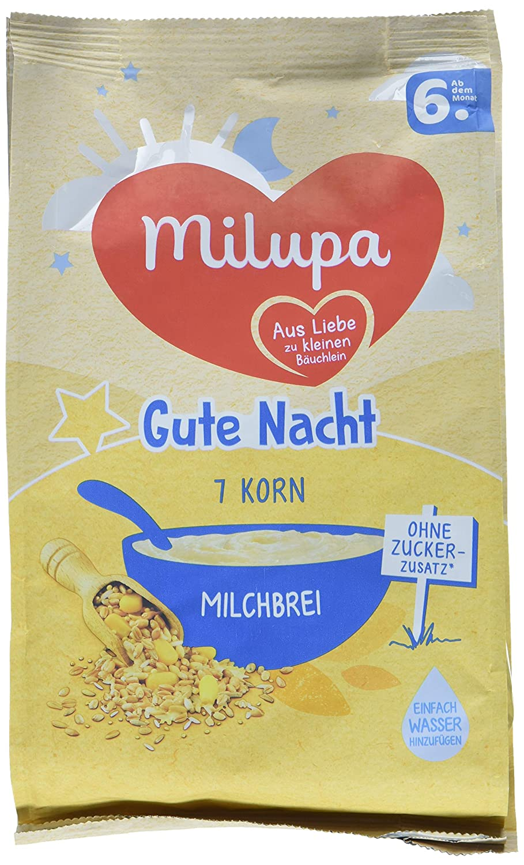 Milupa Gute Nacht Milchbrei 7 Korn, 5er Pack (5 x 400 g) Milupa Nutricia GmbH 131265