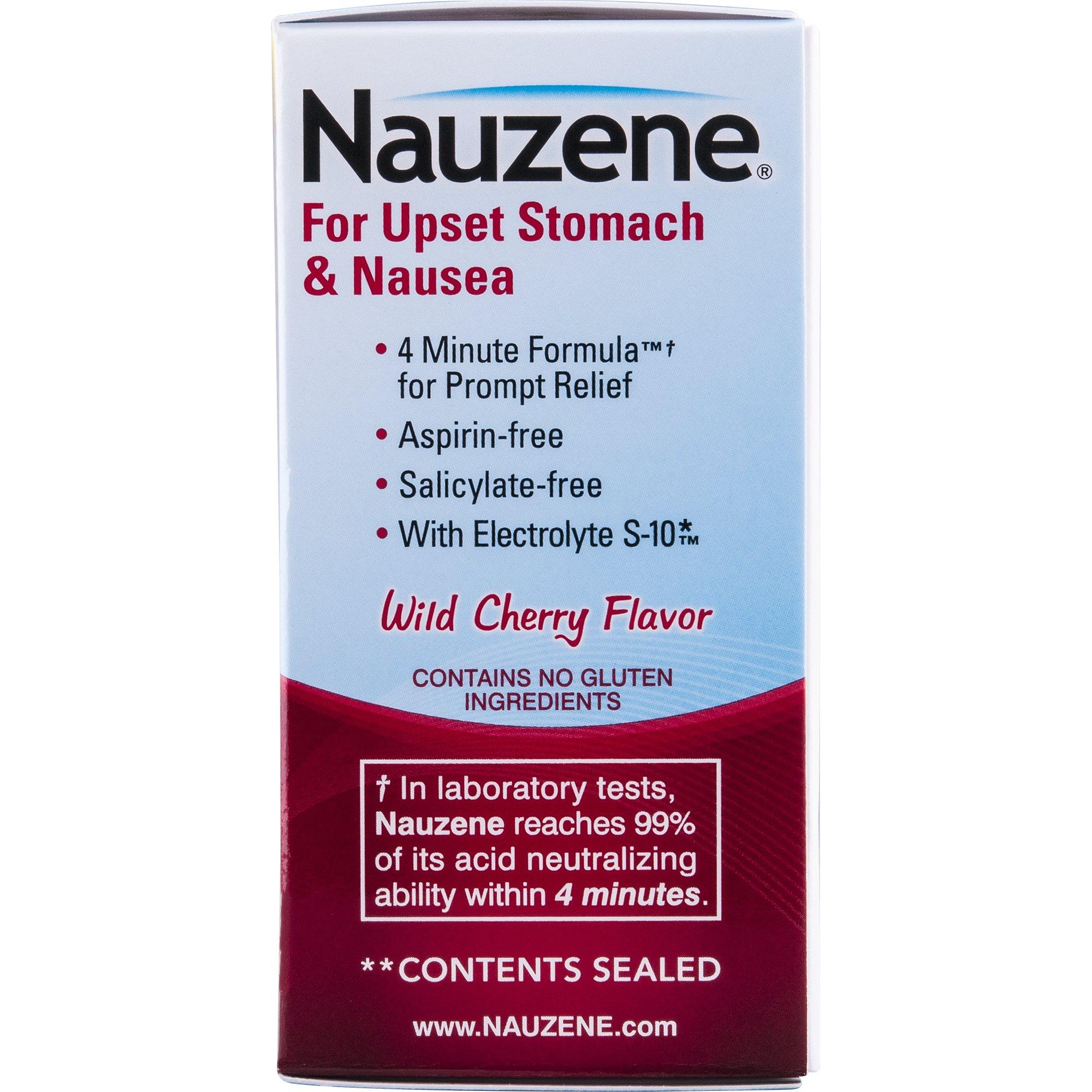 Nauzene For Nausea Chewable Tablets, Wild Cherry, 50 Count by Nauzene (Image #6)