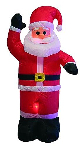 Giocoplast Natale 601 9336 - Papá Noel hinchable con motor ...