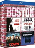 Coffret Welcome To Boston: Strictly Criminal + Spotlight + The Town + Mystic River [Blu-ray]