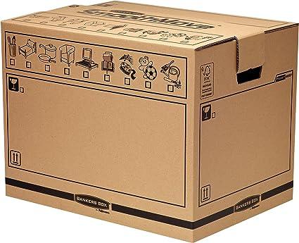 Fellowes Bankers Box Earth Basics Caja de almacenaje 5 unidades