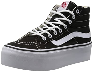 d4bc4bab04 Image Unavailable. Image not available for. Colour: Sneakers Women Vans Sk8-Hi  Platform Sneakers