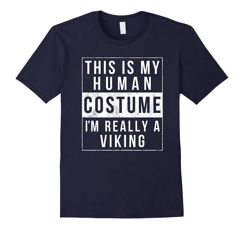 Viking Halloween Costume TShirt Easy Funny Kids Adult-FL