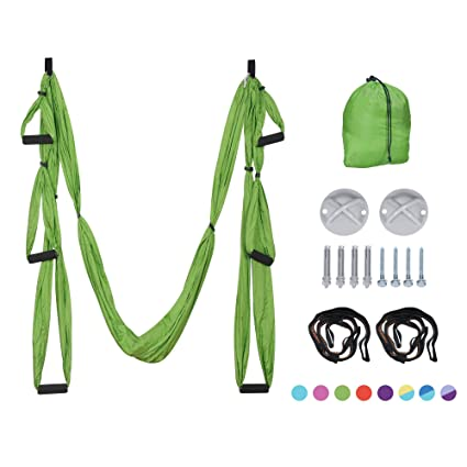 Fitness & Body Building Considerate Yoga Extender Rope Air Antigravity Yoga Swing Sling Inversion Mount Exercises Tool Yoga Hammock Swing Belt Pro In Short Supply Resistance Bands