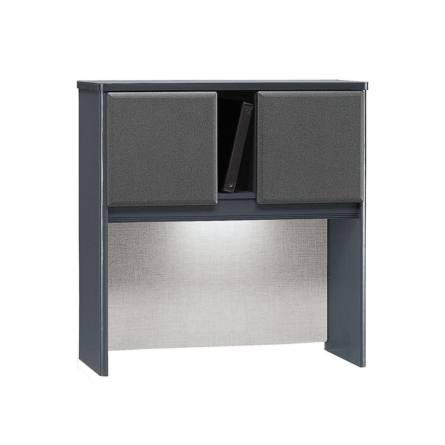 Bush Business Furniture Series A Collection 36W Hutch in Slate