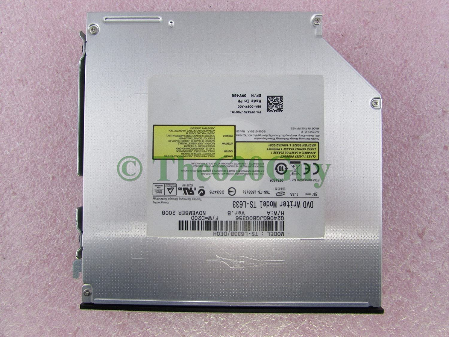 Dell Optiplex 980 960 760 Slimline DVD/±RW W748G SATA Optical Drive ODD TS-L633
