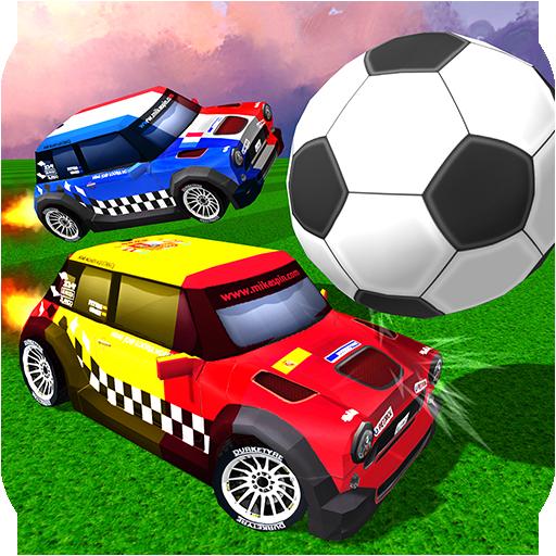 Rocket Champions Soccer - Car League: Racing Simulator & Explosion of Balls]()