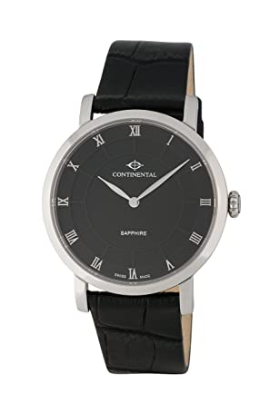 40a1ae806e4c CONTINENTAL - 14202-GT154410 - Swiss Made Men s Quartz Watch with Roman  Numerals and Sapphire