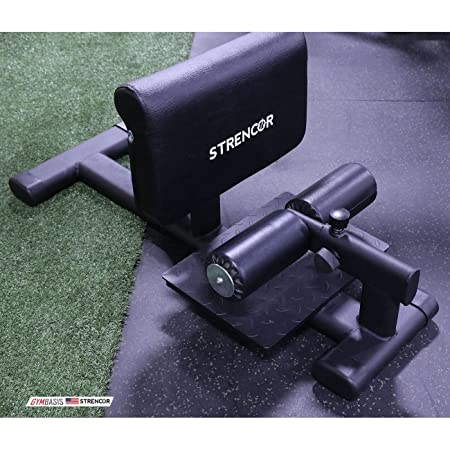 Strencor Heavy Duty Commercial Sissy Squat w Adjustable Leg Support