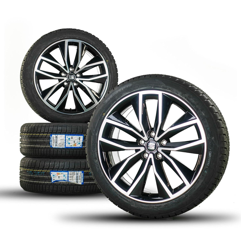 Original 19 pulgadas Invierno ruedas Seat Ateca Llantas Llantas Neumáticos de invierno NUEVO: Amazon.es: Coche y moto