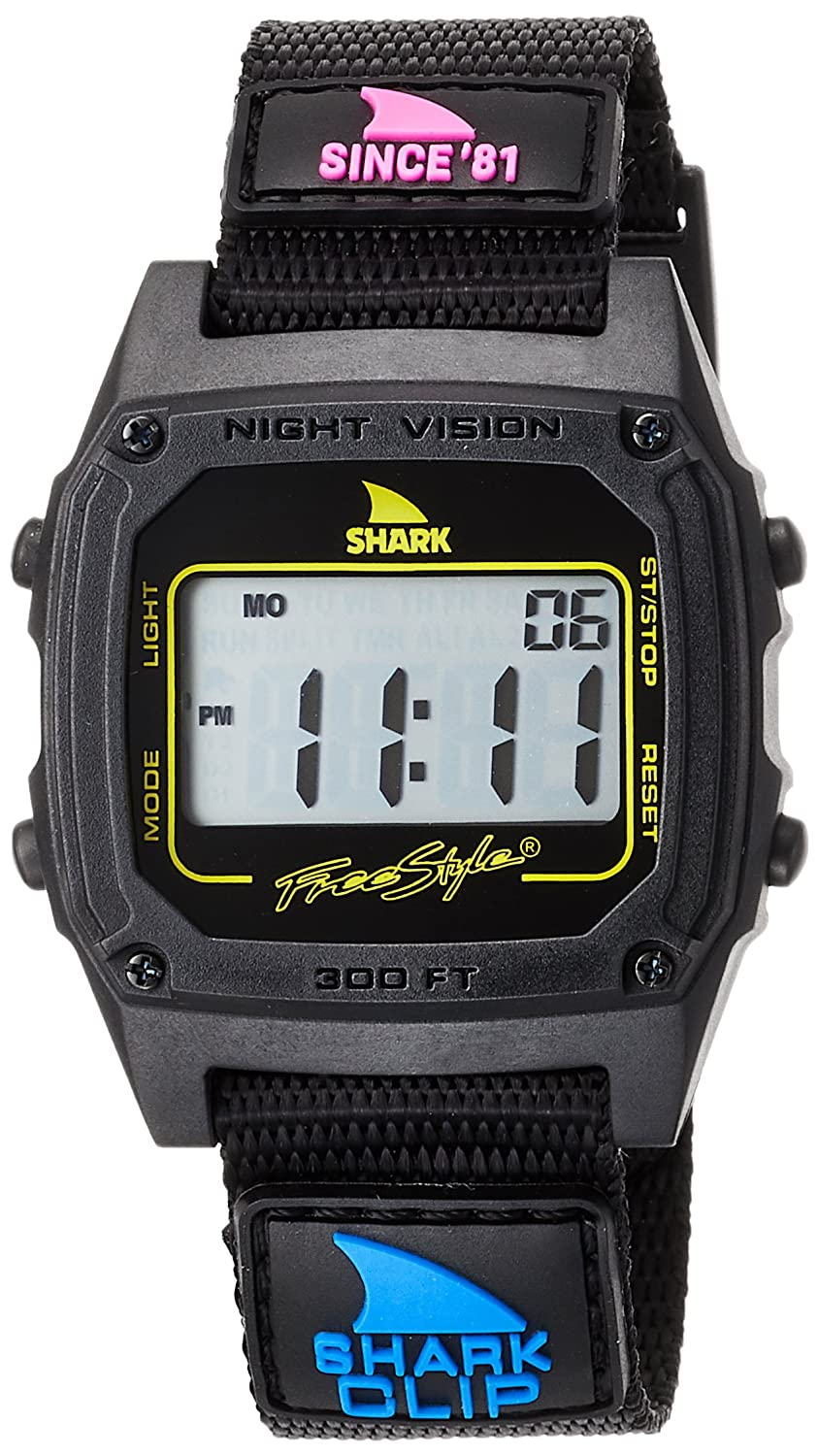 Freestyle Shark Classic Clip Since '81 Primary Black Unisex Watch FS101006