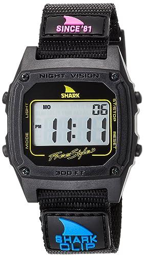 Freestyle Shark Classic Clip desde 81 reloj – Primaria negro