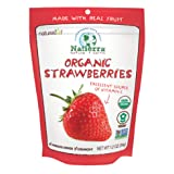 Natierra Nature's All Foods Organic Freeze-Dried and Crunchy, Strawberries Flavor, 1.2 Oz (Pack of 3) (Tamaño: 1.2 Ounce (Pack of 3))