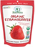 Natierra Nature's Organic Freeze-Dried Strawberries | Gluten Free & Vegan | 1.2 Ounce