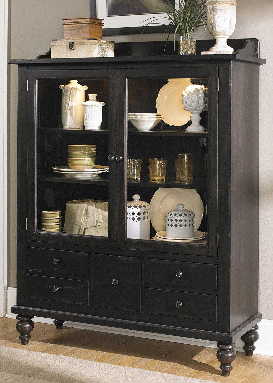 amazon com liberty furniture whitney curio cabinet in black amazon com liberty furniture whitney curio cabinet in black cherry china cabinets