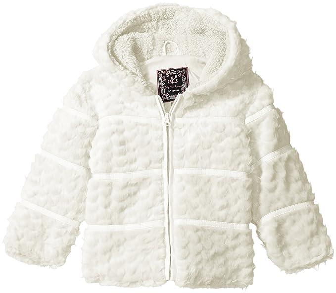 2ef85c70ee62 Ok Kids girls Toddler Girls Heart Quilt Jacket With Faux Fur Trim ...