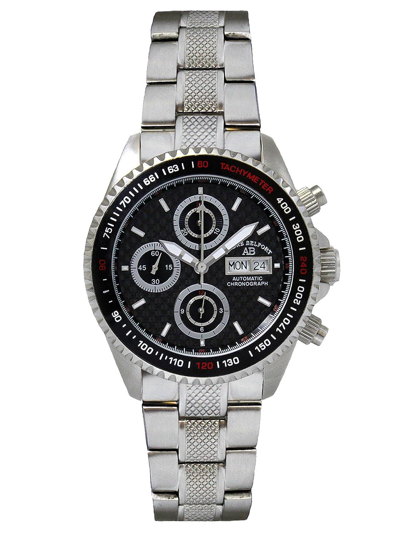 AndrÉ Belfort Herren-Armbanduhr Chronographe Royal Stahl Schwarz 410130