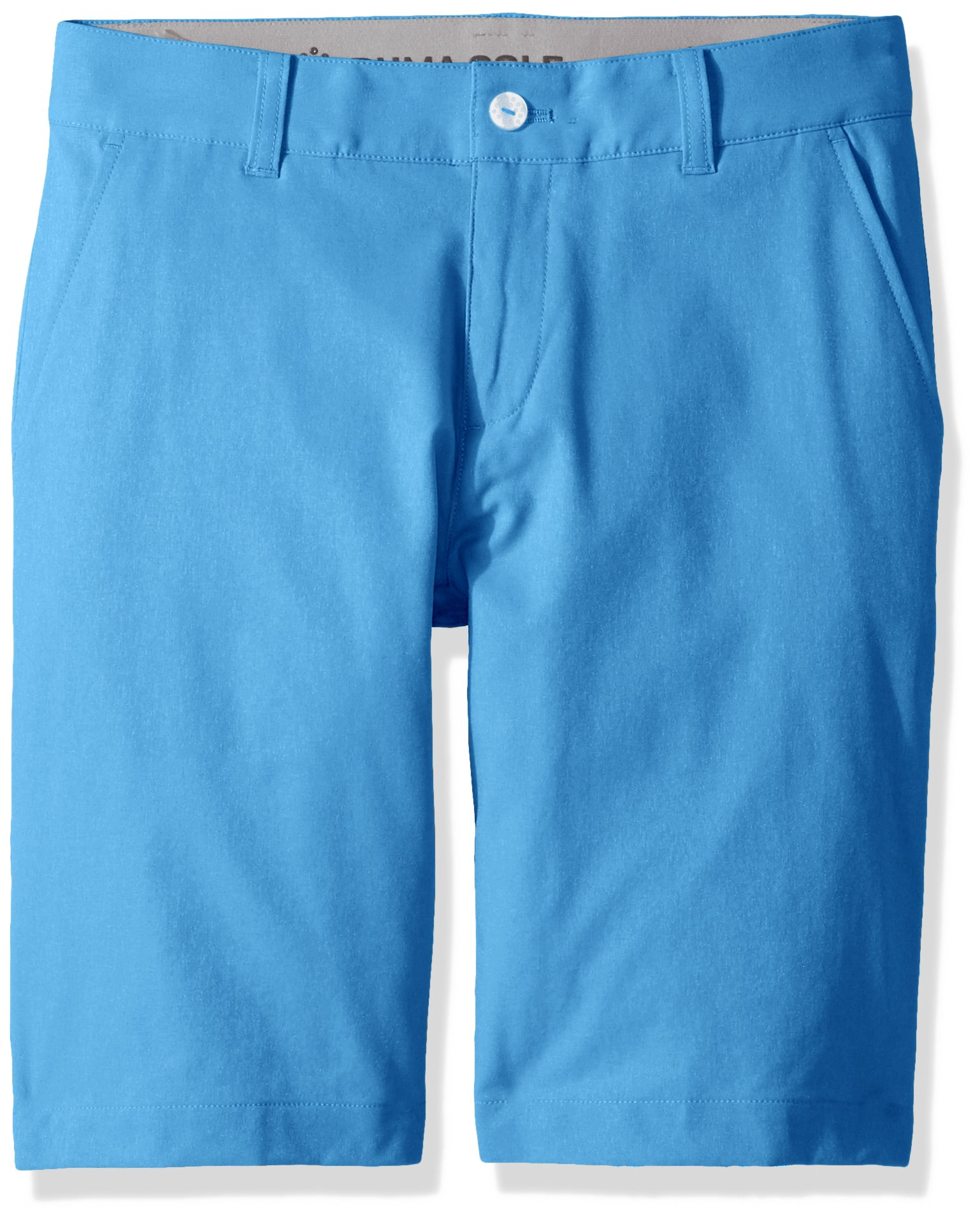 PUMA Golf Teen 2018 Boy's Heather Pounce Short, Marina, Small by PUMA