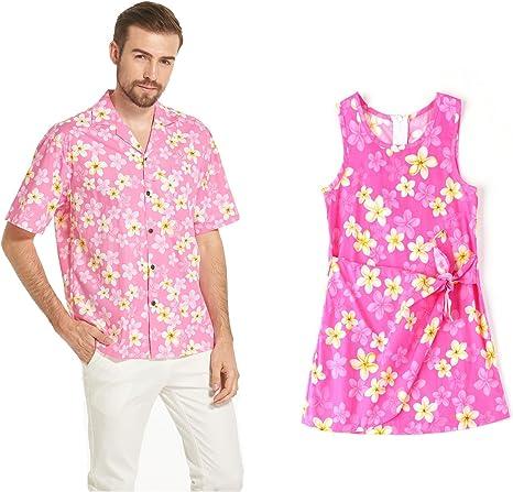 Hecho en Hawai Conjunto de Hija de Padre Luau Aloha Camisa ...