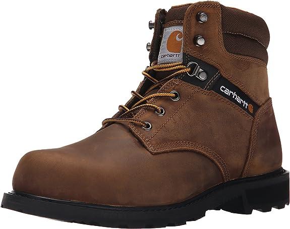 6. Carhartt Men's Safety-Toe Work Boot