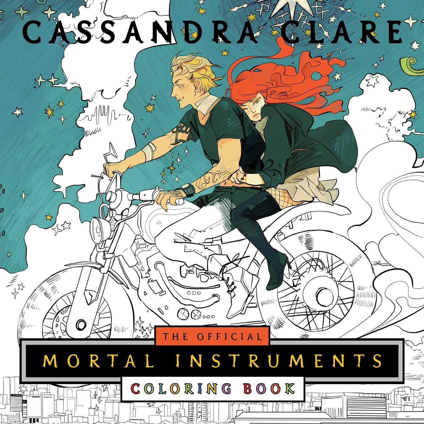 Official Mortal Instruments Coloring Book product image