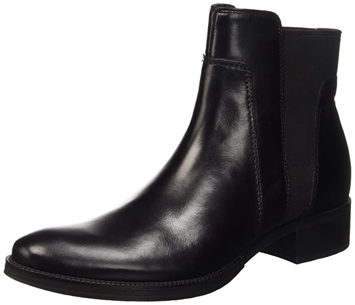 Geox Damen D Mendi Stivali A Chelsea Boots, Braun (Coffee