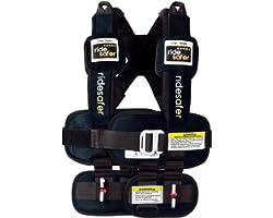 Safe Traffic System Ride Safer Travel Vest Gen 5, Small, Black