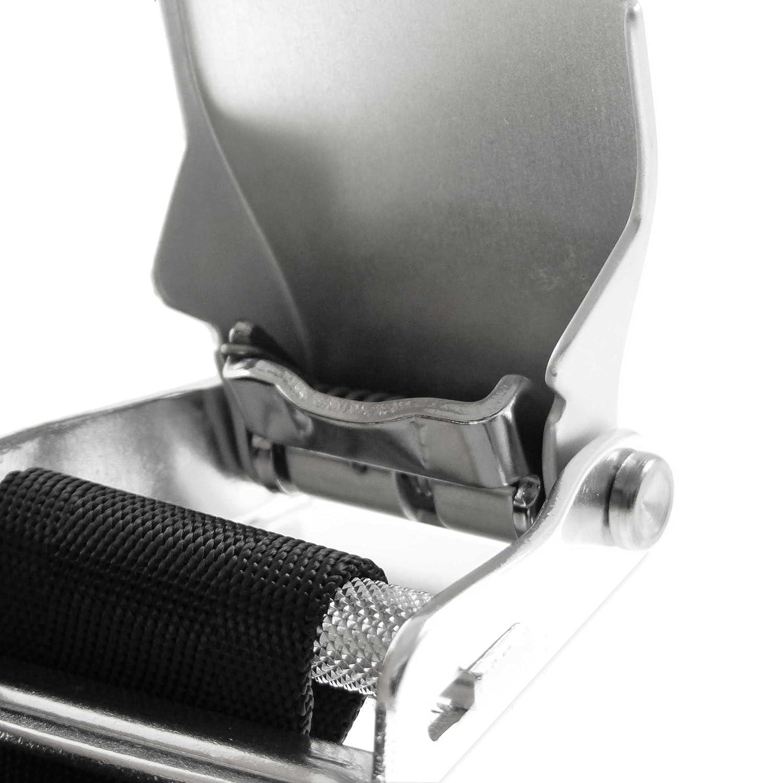 XXL The Aerodyne Ceinture de s/écurit/é pour Pantalon Ceinture de s/écurit/é mod/èle Avion de Ligne Seat Belt Noir XS