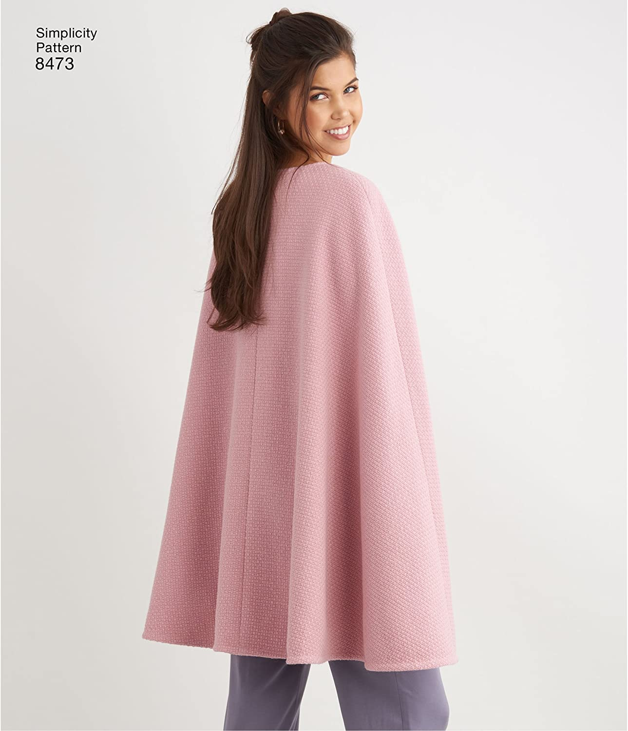 Simplicity Ladies Easy Pattern Hacking Sewing Pattern 8473 Capes