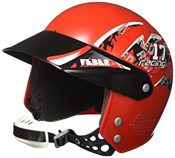FEBER Helmet Boy Casco de Seguridad, Color Rojo (Famosa 800003101)