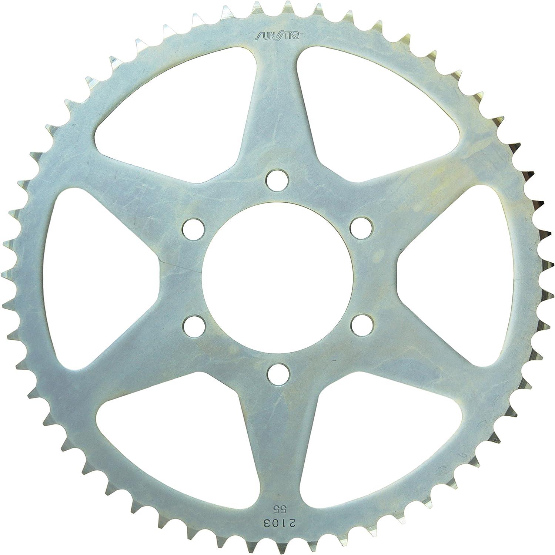 Sunstar 2-209854 54-Teeth 428 Chain Size Rear Steel Sprocket
