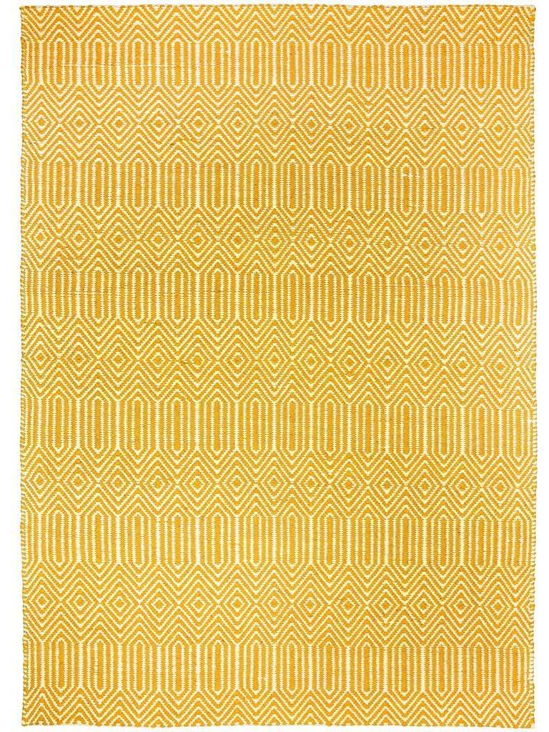 Benuta Teppich Sloan Gelb 160x230 cm   Moderner Teppich für Wohn- und Schlafzimmer