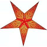 Sternleuchte - Scorpius rot - aus Papier