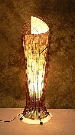 Lámpara de pie asiatica Buku Carang M (LA22-16/100 ...