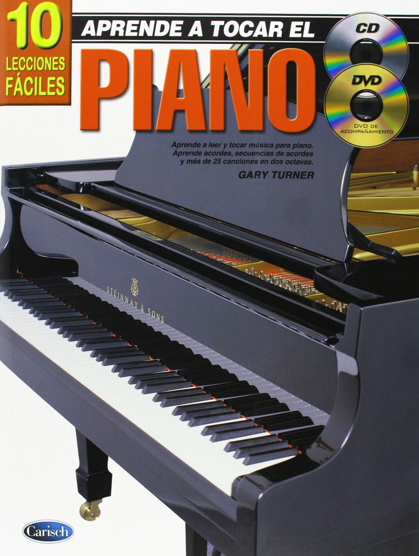 Aprende a tocar el Piano: 10 Lecciones Fáciles Koala: Amazon ...