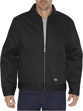Dickies Mens Insulated Lined Eisenhower Jacket Style # TJ15 Black