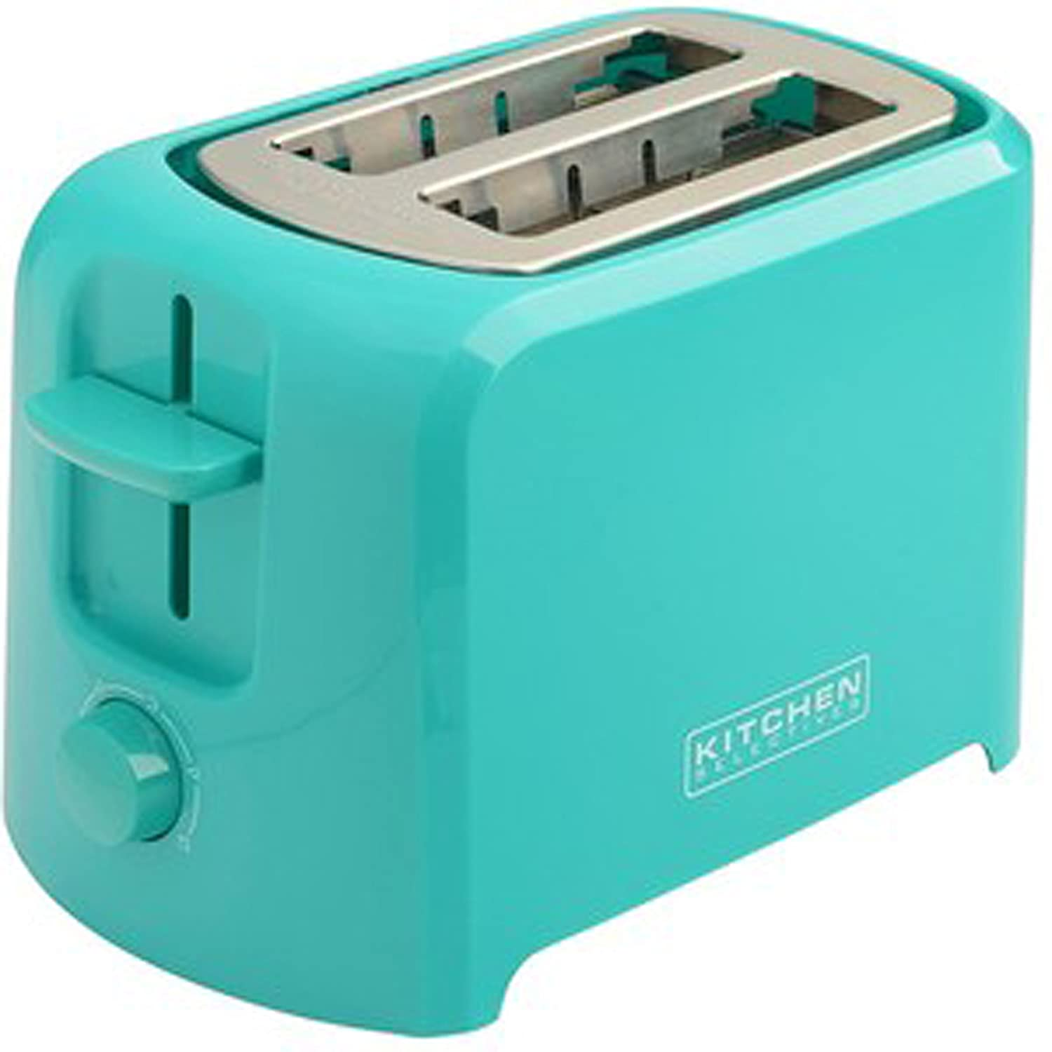Amazon.com: Kitchen Selectives Cool-Touch 2 Slice Toaster - Teal ...