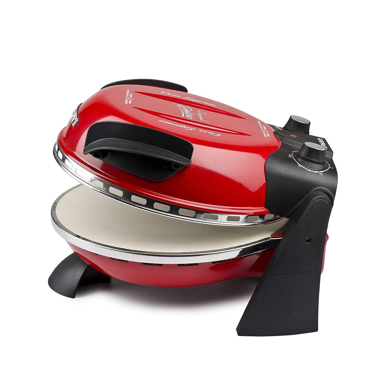 G3Ferrari G1000602 Delizia Four /à pizza /électrique Evo rouge 1200 W