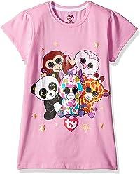 Ty Beanie Boos Girls Beanie Boo Ss Tee Shirt