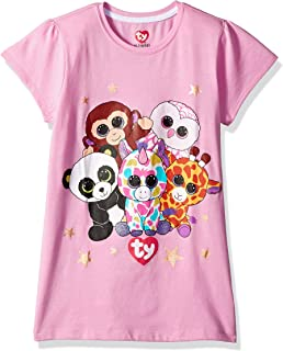 7a0f5e639be Amazon.com  Ty Beanie Boo Glamour Hat And Glove Faux-Fur Plush 3D ...